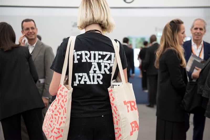 Frieze London 2018 Art Fair Highlights Preview What to expect tom sachs dover street market london nan goldin chris ofili wolfgang tillmans david shrigley gucci josh blaaberg