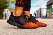 "An On-Foot Look at the 'Game of Thrones' x adidas UltraBOOST ""House Targareyn Dragons"""
