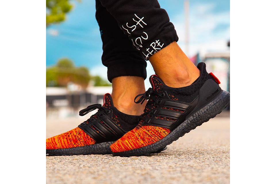 ultra boost game of thrones on feet