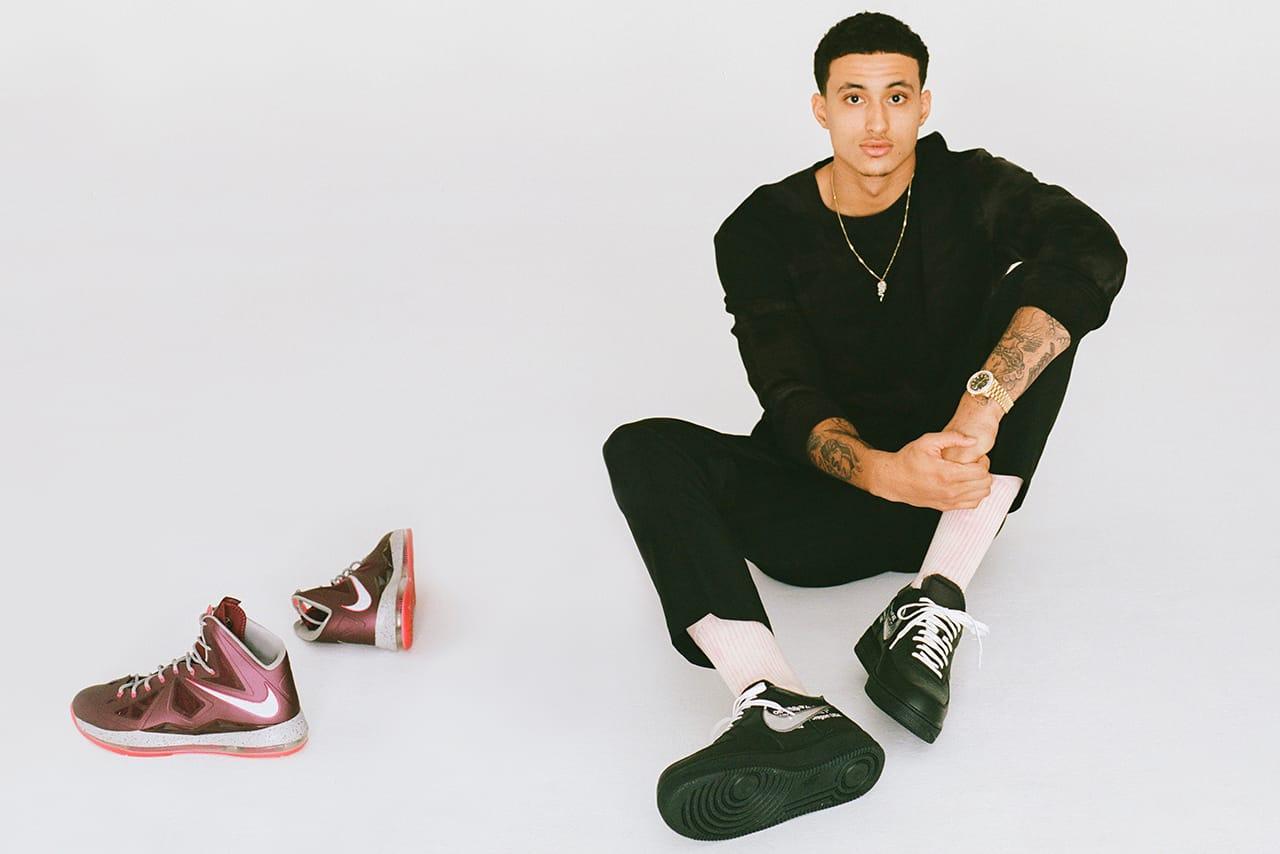 GOAT \u0026 Kyle Kuzma Sign Sneaker