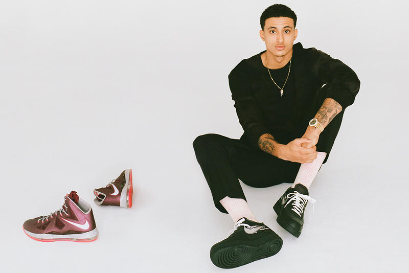 GOAT Kyle Kuzma LA Lakers Los Angeles NBA Basketball Sneakers Footwear Resale Hyped Nike Rare Exclusive Partnership Endorsement Brand Ambassador