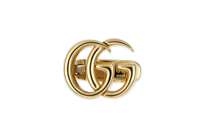 Gucci GG Running Jewelry Collection Fashion Cop Purchase Buy Silver Gold Necklaces Bracelets Rings 2018 fall winter