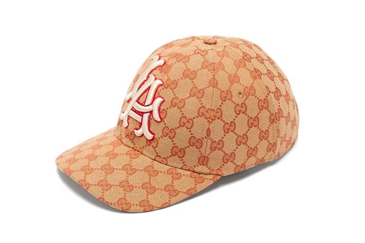 Gucci Gives the LA Dodgers Cap a GG Monogram Treatment 16b527fe2262