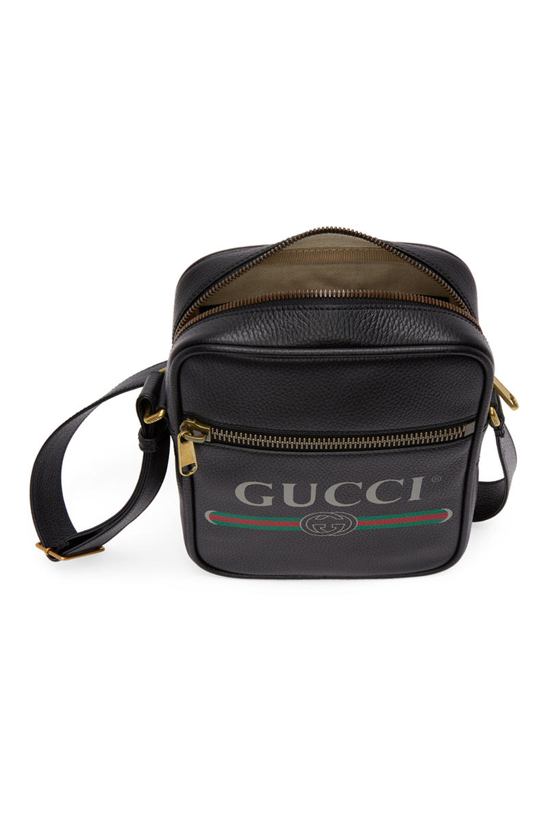 ccac10cf9417 Gucci Logo Messenger Bag