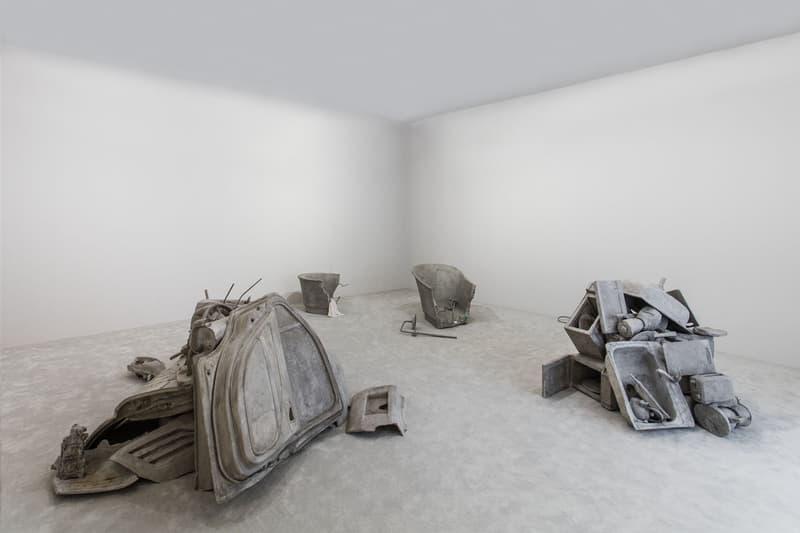 gucci the artist is present yuz museum exhibition shanghai maurizio cattelan