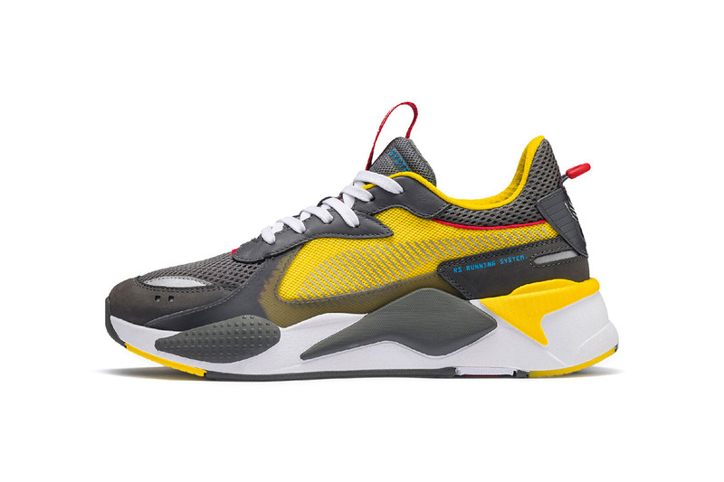 7855f96d5f6 Hasbro Inc. is next in line to connect with PUMA for a footwear  collaboration. The PUMA RS-X model takes on Bumblebee and Optimus Prime  themes