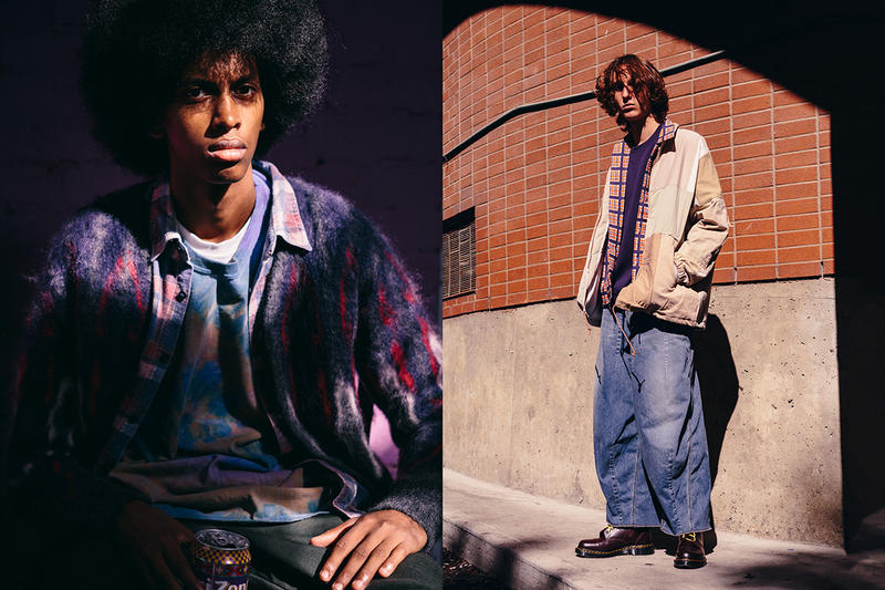 HAVEN Fall Winter 2018 Nepenthes Editorial needles engineered garments release info