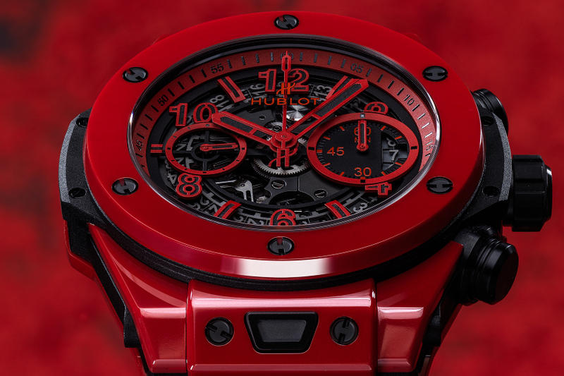 Hublot Big Bang Unico Red Magic Watch Ceramic Limited Release Flyback chronograph
