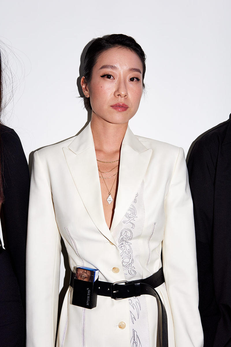 "Hyein Seo Seoul Fashion Week Spring/Summer 2019 SS19 Preview Party Event Recap Clothing Euljiro District Dadaism Club Coucou Chloe Pop Up Shop Store ""Prototype"" T-Shirts Inspired Inspiration 90s Rave Party"