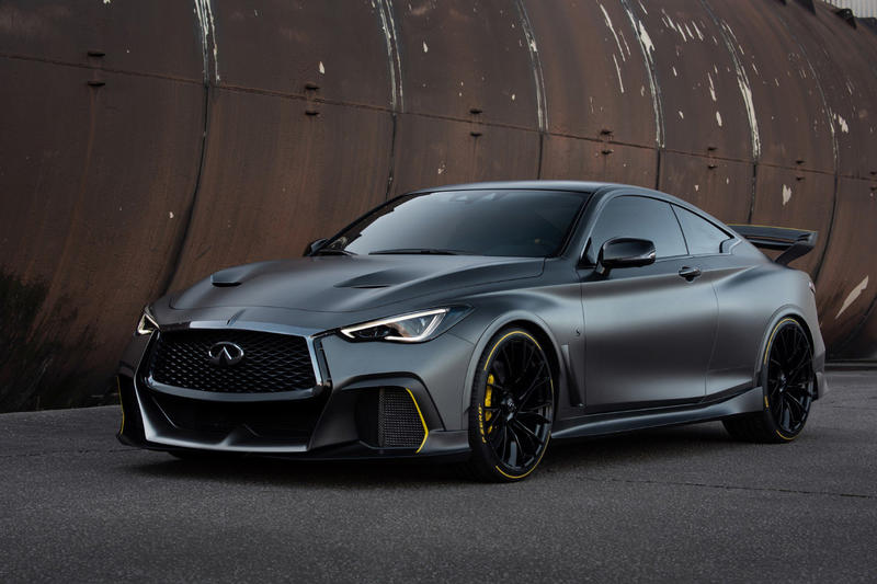 Infiniti Project Black S Q60 Coupe F1 Renault Technologies Hybrid Electric Car An Motors Nissan