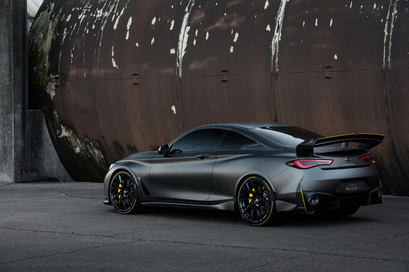 InfinitI project black s q60 coupe f1 renault technologies hybrid electric car hybrid japan motors nissan skyline engineering cars sports car racing fast speed