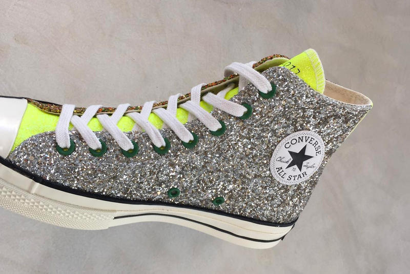 J.W. Anderson x Converse Fall 2018 Sneakers chuck taylor colorways glitter release date price purchase info