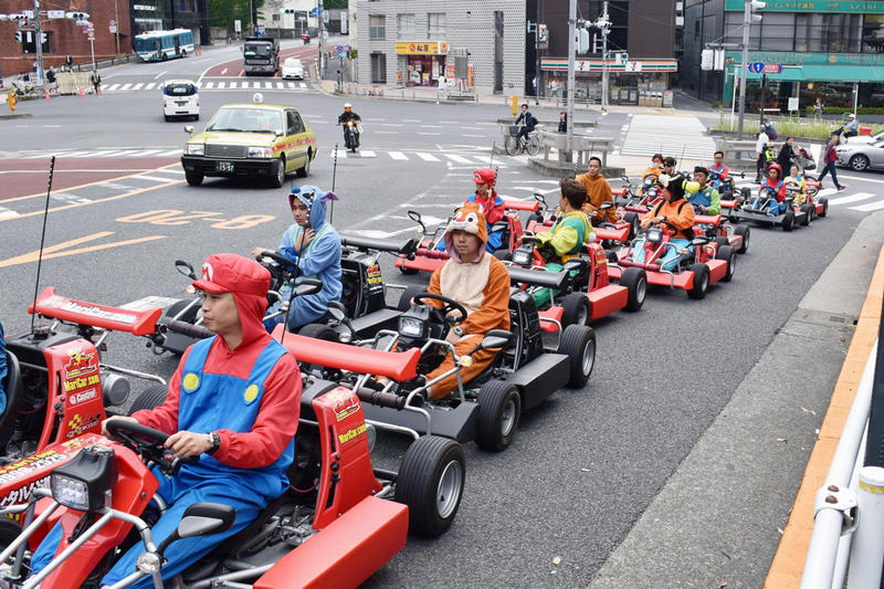 Japan 'Mario Kart' Attraction Nintendo Lawsuit Fines Maricar Tokyo Attraction MariMobility