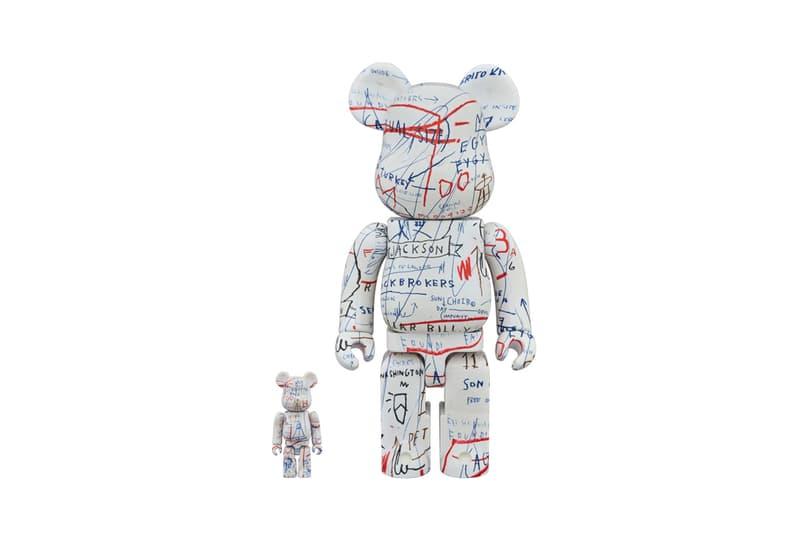 jean michel basquiat medicom toy bearbrick october release vinyl figure collectible artwork art design