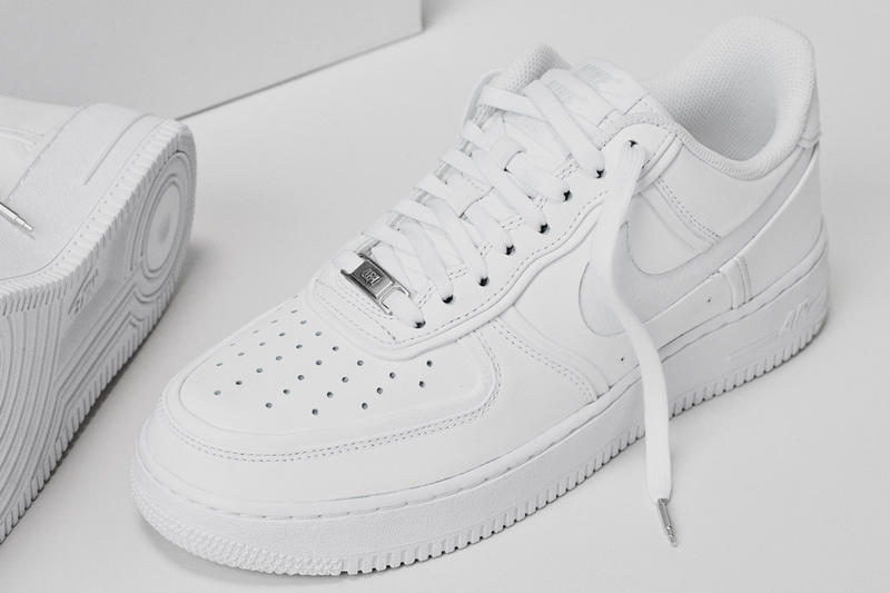 "John Elliott x Nike ""Double Tongue"" Air Force 1 Low white october 2018  sneaker trainer footwear"