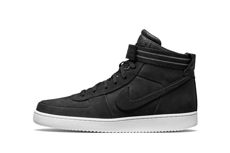 John Elliott Releases Black Nike Vandal High Collaoration release date october 16 2018