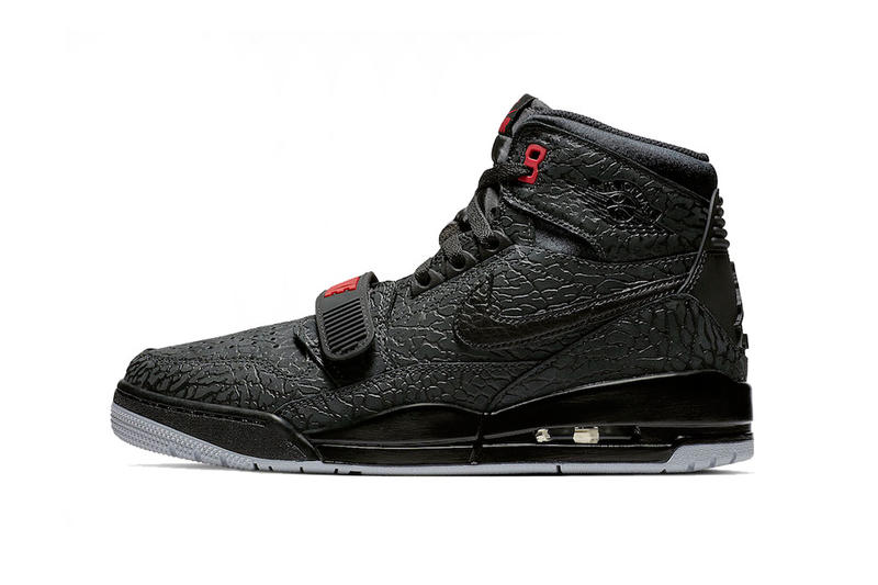 jordan legacy 312 elephant print 2018 holiday footwear don c