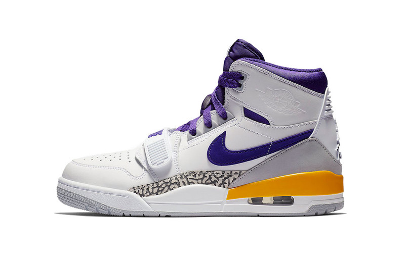 "Jordan Legacy 312 ""Lakers"" Gets Ready for Showtime Next Month"