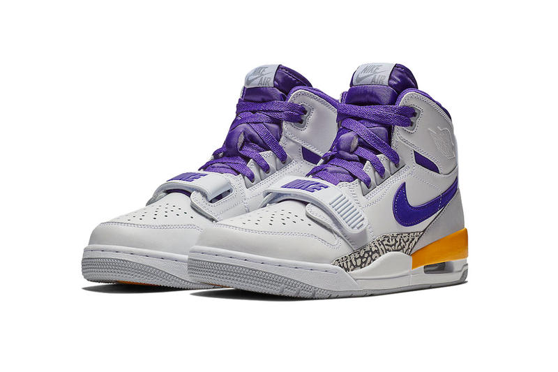 jordan legacy 312 los angeles lakers release date 2018 november brand footwear don c white field purple amarillo