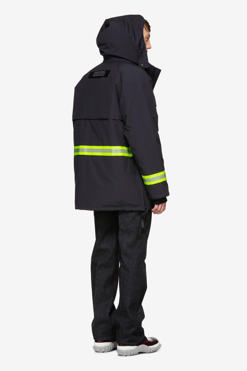 Junya Watanabe Canada Goose Fall Winter 2018 Jackets Outerwear Gore Windstopper reflective coat down parka double layer edition hooded
