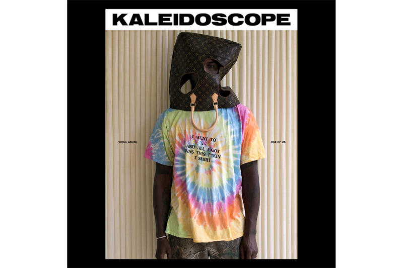Kaleidoscope Issue 33 Virgil Abloh Exclusive Ludwig Mies van der Rohe streetwear art milan louis vuitton off-white off white kanye west hypebeast fashion nike