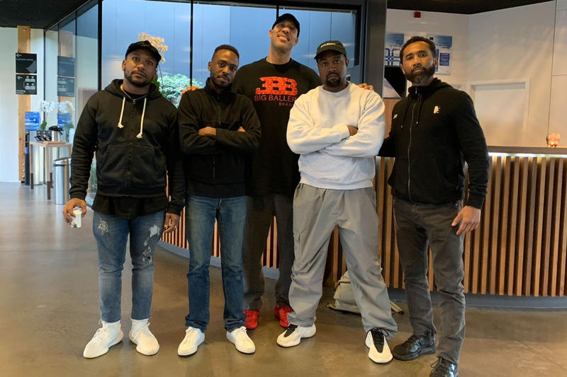 Kanye West Big Baller Brand Potential Collab Teaser Cyhi The Prynce BBB