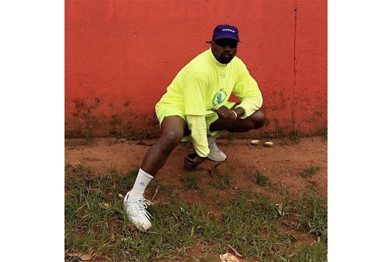 Kanye West YEEZY BOOST 350 V2 Ugandan Kids Uganda Yoweri Museveni President Sneakers Shoes Trainers Kicks adidas Originals Kim Kardashian
