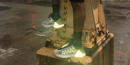 Kanye West's Yeezy Basketball Sneaker
