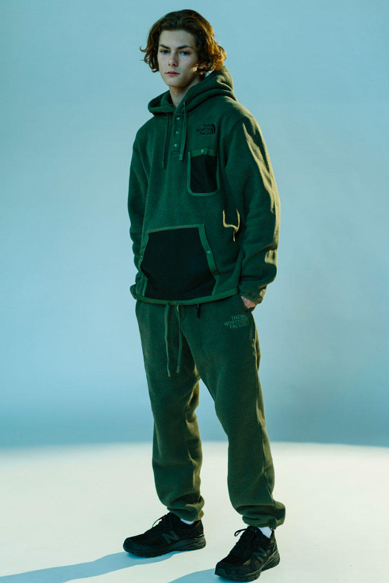 Kazuki Kuraishi The North Face Black HAVEN Editorial Series Collection Fall Winter 2018 SR GTX Jacket SS Light Down Jacket Charlie Pant Padded Cardigan Fleece Jacket pullover Delta Pant Olive Green Cosmic Blue
