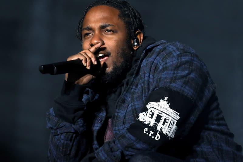 Kendrick Lamar DAMN. European Tour Dublin London Paris Copenhagen Berlin James Blake