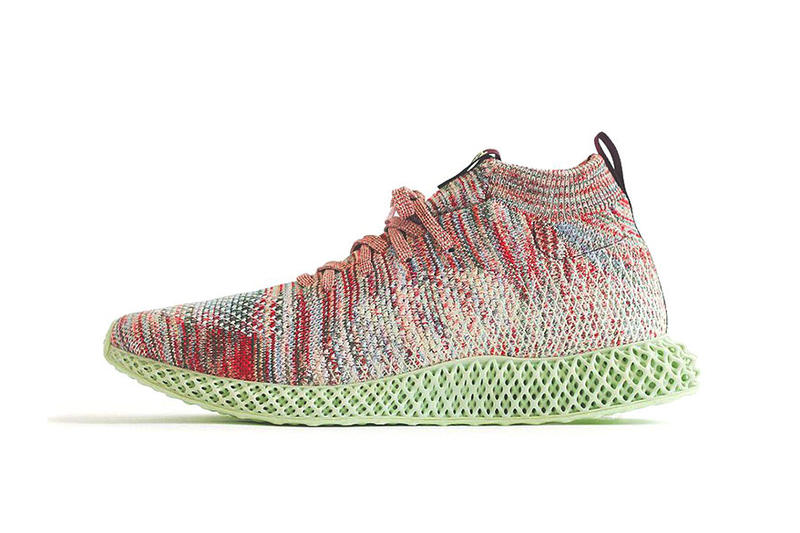 KITH x adidas Consortium 4D Aspen Release Date Multi-Color/Multi-Color/Aero Green sneaker November 2018 price