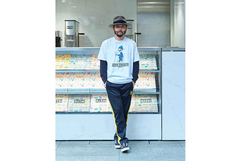 Poggy KITH Treats Tokyo T-Shirt amazon fashion week ice cream flavor The man release info