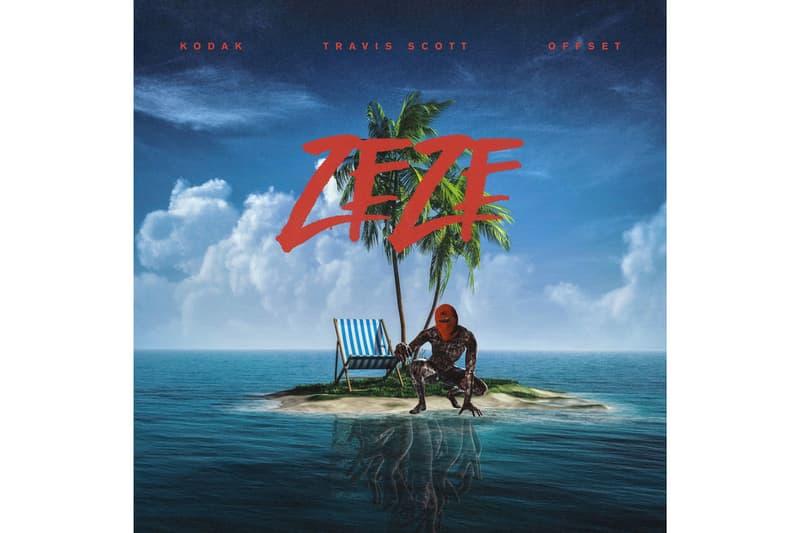 Kodak Black Travis Scott Offset Zeze Stream New track Song Release Migos Single