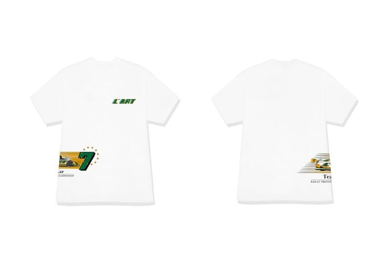 L'art de l'automobile GT Racing Capsule Release KAR GT Crewneck Long Sleeve Short T Shirt White Black Info Date Poster Keychain