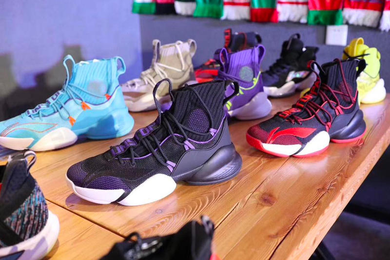 Li Ning Basketball adidas Crazy BYW X Copy Unstoppable Chinese China