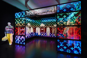 Louis Vuitton Opens a Pop-Up For Virgil Abloh's SS19 Debut Collection