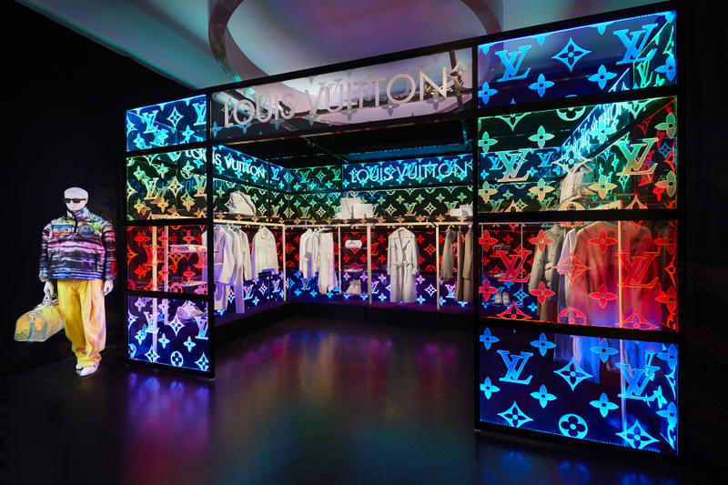 Louis Vuitton Virgil Abloh Spring Summer 2019 Pop Up Store Debut Collection Mayfair London
