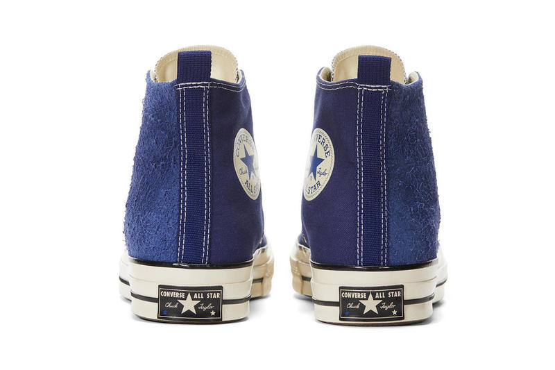 MADNESS converse chuck taylor all star 70s high top sneaker collaboration shoe drop release info october 15 17 blue suede canvas 2018 raffle