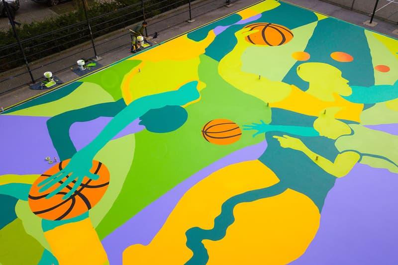 madsteez st nicholas basketball court harlem new york city mural artwork