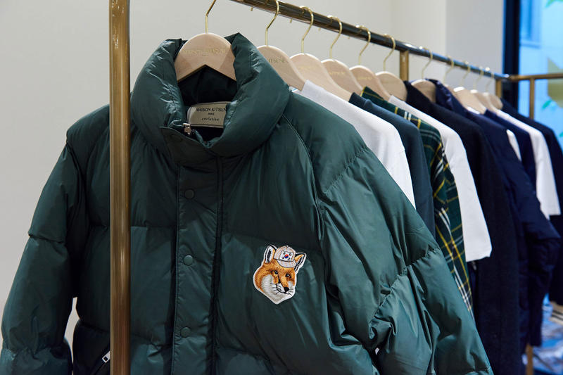 Maison Kitsuné South Korean Flagship Exclusive Capsule korea paris