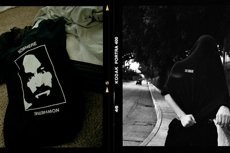 Mark Mcgregor Shane Gonzales NOWHERE SKATEBOARDS Noah Willet Eamon Samojla Demetrio Dipasquale Erik Arteaga Inaugural Release skateboard decks t shirts hoodies headwear