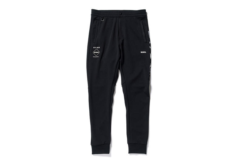 mastermind WORLD F.C.R.B. Fall Winter 2018 Collaboration japan collection real bristol black hat sweatpants track tee shirt october 26 2018
