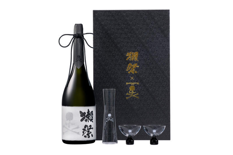 mastermind Japan x Dassai Sake Collection collaboration liquor bottle 720 ml 2300 ml packaging price release date info price malaysia isetan the japan store