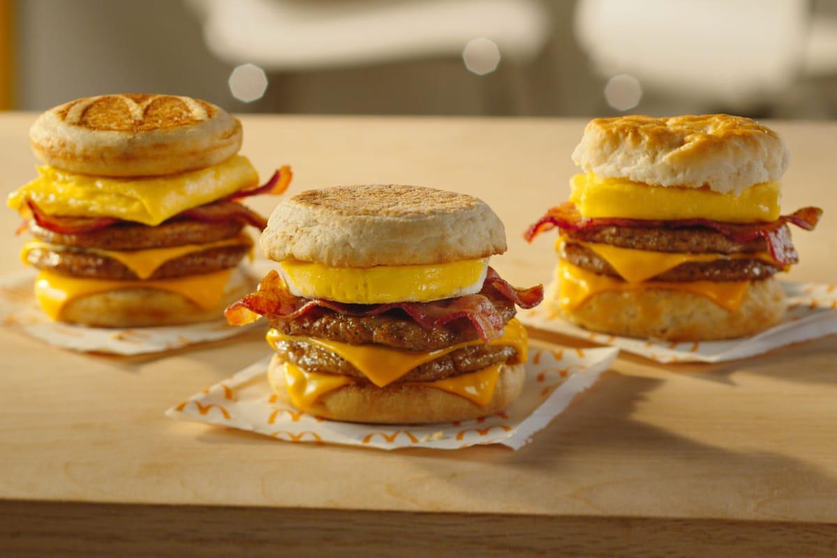 """McDonald's New Breakfast Sandwich Inspired by Its """"Secret Menu"""""""