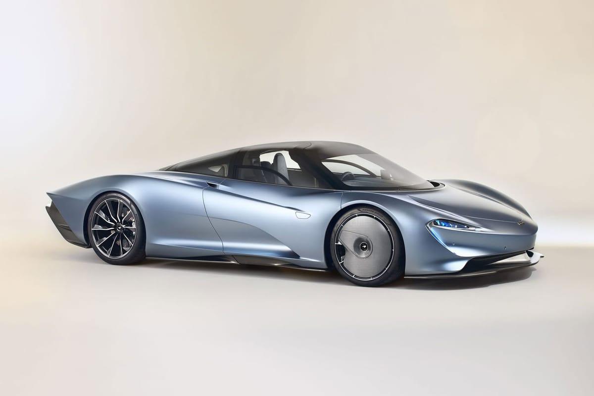 """McLaren Unveils the """"Speedtail"""" Hypercar"""