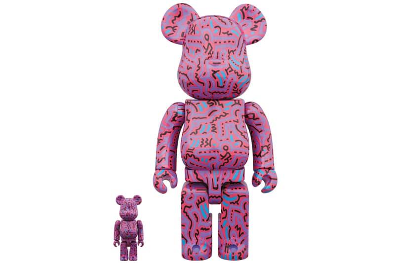 Medicom Toy Keith Haring BE@RBRICKs 2 dancing people 100% 400%