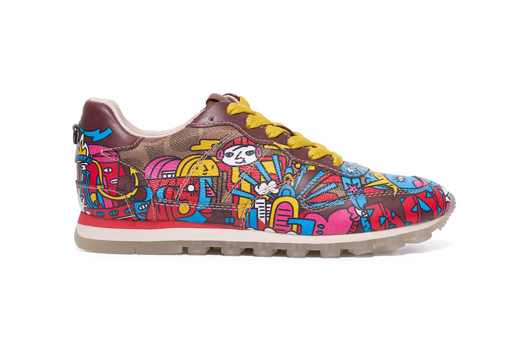 a716ff833735 Artist Mindflyer and Coach Debut Singapore-Exclusive C118 Sneaker
