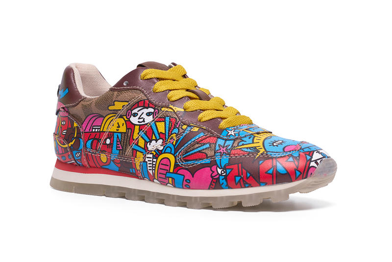 Mindflyer Coach C118 Sneaker artist series singapore
