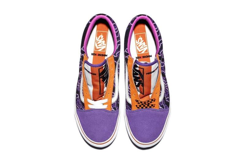 Mindseeker Vans Footwear Release Info old skool sneakers skateboarding 80s flames lightening graphics print drop release date info november 3 4 2018 fall winter japan