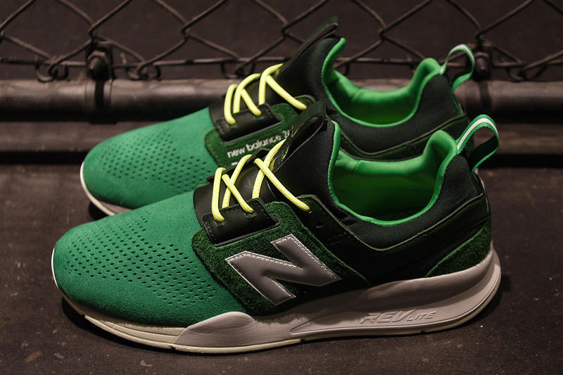 """mita x New Balance 247v2 """"Bouncing Frog"""" Release Date sneaker colorway japan green price info"""